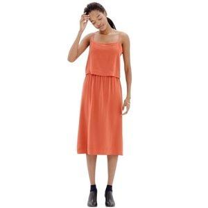 Madewell Silk Cami Overlay Dress